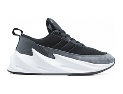 КРОССОВКИ ADIDAS SHARKS BLACK-GREY