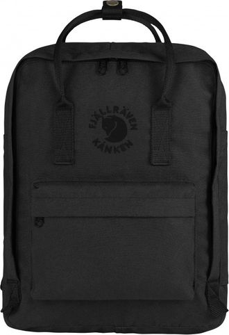 Рюкзак Fjallraven Kanken Black (Re-Kanken)