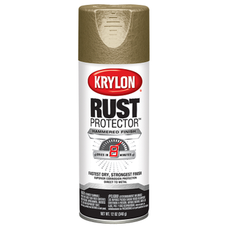 Krylon Rust Protector Hammered Gold 69318