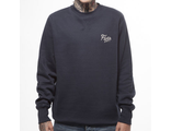 Свитшот Fly53 Volli Pattern Crew Neck Sweatshirt Темно-Синий