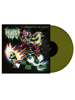 Broken Hope - Swamped In Gore LP Green