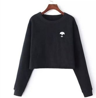 Женский короткий пуловер