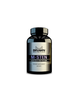 BRAWN M-STEN (Methylstenbolone 60 caps)