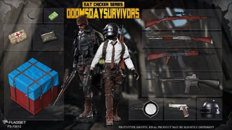 "PlayerUnknown's Battlegrounds ""PUBG"" - Коллекционная фигурка 1/6 Scale Doomsday Survivor (FS-73012) - FLAGSET"