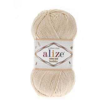 Alize Cotton Gold Hobby 67 светлый беж