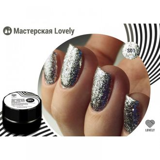 Гель-лак Lovely Shine №S01, 5 ml