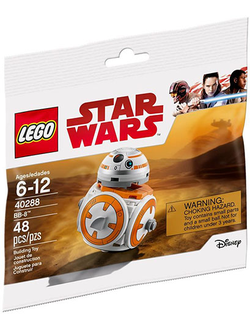 # 40288 Минифигурка BB–8 / BB–8 Minifigure (Polybag)