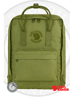 Рюкзак Fjallraven Re-Kanken Spring Green (607)