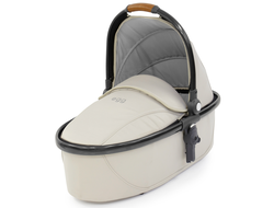 Люлька Egg Carrycot Jurassic Cream и Gun Metal Frame
