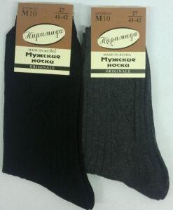 Пирамида носки мужские М-10 хлопок, 10 пар (1 упаковка)