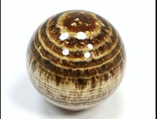Шар Арагонит полосчатый, Перу (49 мм, 160 г) №20137