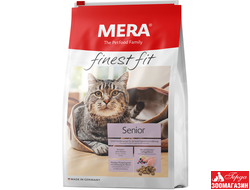 "корм Mera Finest Fit ""Senior 8+"" (Мера Файнест Фит ""Сеньор 8+"") для стареющих кошек"