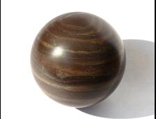 Шар из Кварцита малинового, Карелия (44 мм, 123 г) №14499