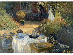 Открытка  -  Oscar-Claude Monet
