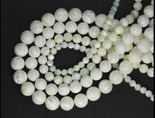 Бусины Перламутр, шар 6 мм (1 шт) №19592