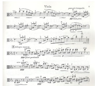 Britten Lachrymae op.48  for viola and piano