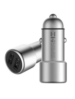 АЗУ ZMi Car Charger Silver