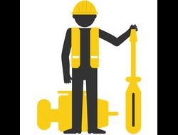Монтаж подъёмного оборудования доклевеллеров и столов для складов и магазинов