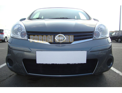 Защита радиатора Nissan Note 2009- black