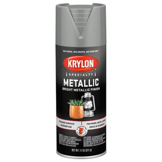 Krylon Metallic Chrome Aluminum 1404