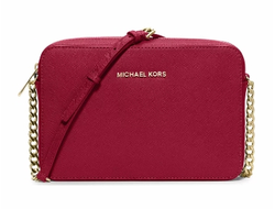 Сумка Michael Kors Jet Set красная
