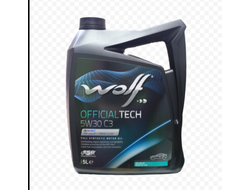 Масло моторное WOLF OFFICIALTECH 5W30 C3 5л