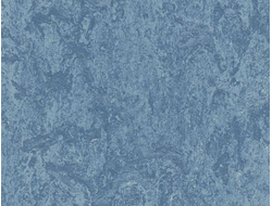 Линолеум Натуральный Мармолеум (Marmoleum Real) 3055 fresco blue
