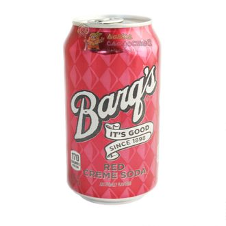 Barq's Red Cream Soda, 355ml