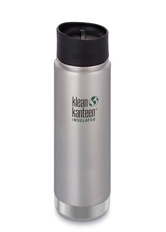 Термобутылка Klean Kanteen Insulated Wide 20oz (592 мл) Brushed Stainless