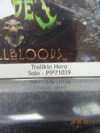 Trollkin Champion Hero