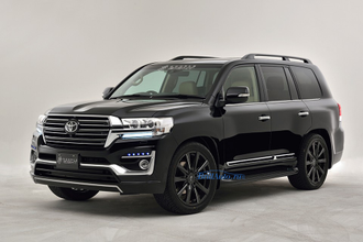 Обвес Double Eight (оригинал) Toyota Land Cruiser 200 2016+