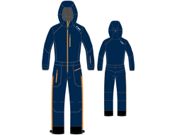 Комбинезон VIST SUPERSKI OVERALL Suit Unisex