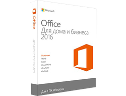 Лицензия на Microsoft Office Home & Business 2016 - 1 PC All Languages (электронная лицензия для организаций) #0