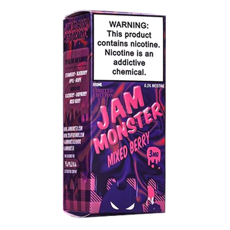 Jam Monster Mixed Berry 100мл 3мг