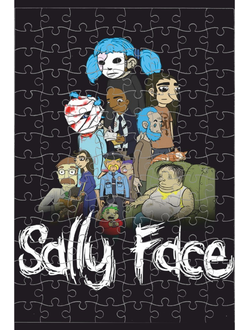 Пазл Sally Face № 7