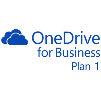 Microsoft One Drive for Business Plan 1 Open Shared Server  SNGL Subscription VL OLP NL Annual Quali