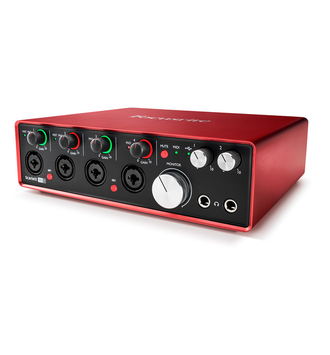 FOCUSRITE Scarlett 18i8 2nd Gen в soundwavestore-company.ru
