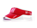 VISOR CAP Red