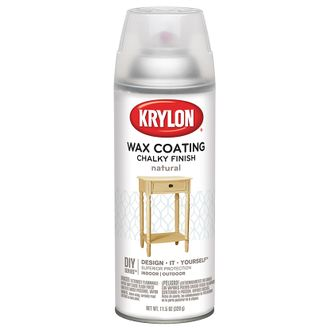 Krylon Wax Coating Chalky Finish
