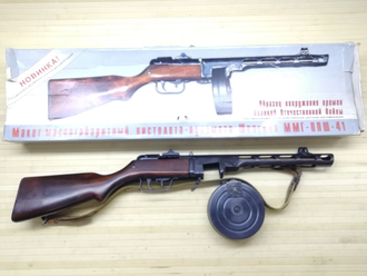 Макет ММГ ППШ-41 https://namushke.com.ua/products/mmg-ppsh41