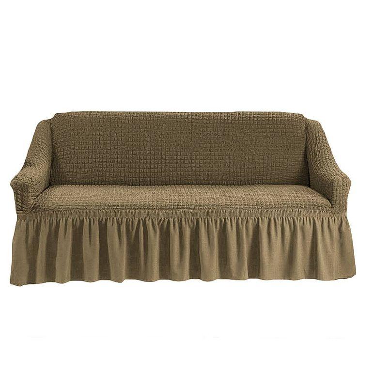Чехол на диван, Темно-оливковый 220