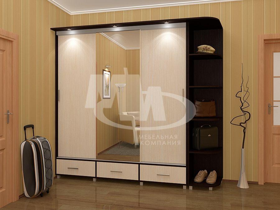 Шкаф-купе тринити - магазин мебели в егорьевске.