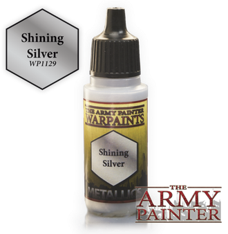 "The Army Painter: Краска акриловая ""Shining Silver"""