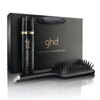 Набор GHD PADDLE BRUSH & HEAT PROTECT SPRAY.