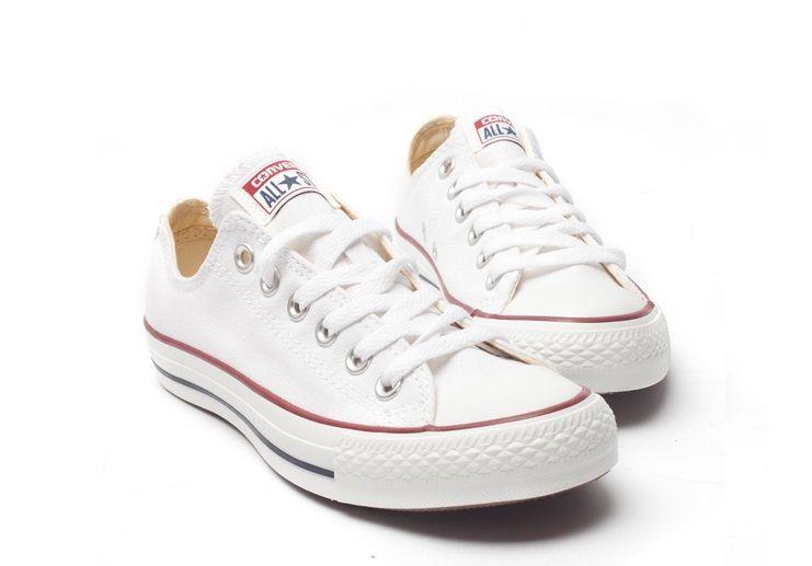 028b1a0bc64e Купить женские белые низкие кеды Converse All Star M7652 в интернет ...