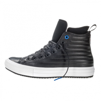 кожаные кеды converse all star leather black 157492