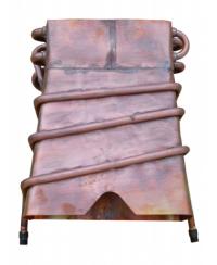 Медный теплообменник для колонки с 2-я рычагами теплообменник выбор форма