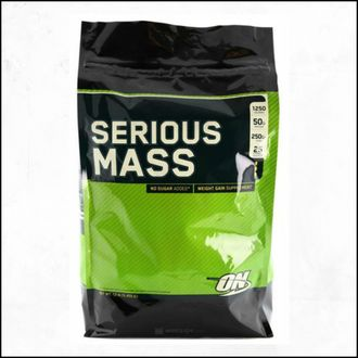 Гейнер Optimum Nutrition Seriousn Mass 5,44 кг