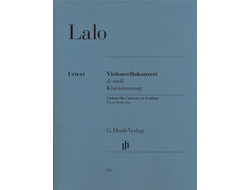 Lalo, Violoncello Concerto d minor