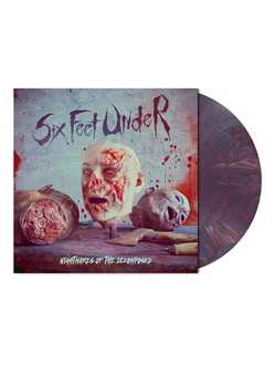 Six Feet Under - Nightmares of the Decomposed LP dark violet